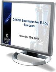 Critical Compliance Strategies for E-Log Success Webcast