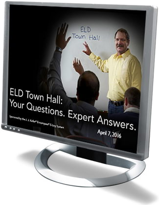 ELD Town Hall Webcast