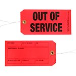 Out of Service/Maintenance Required Tags