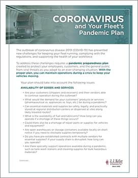 Coronavirus and Your Fleet's Pandemic Plan