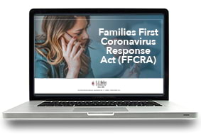 Families First Coronavirus Response Act (FFCRA) Webcast