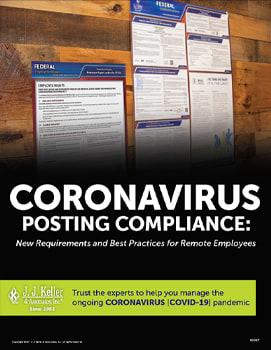 Coronavirus Posting Compliance