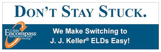 Don't stay stuck. We make switching to J. J. Keller ELDs easy!