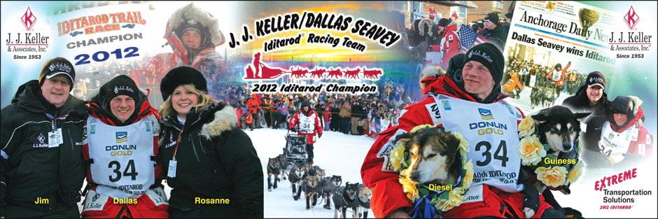 J. J. Keller Musher Dallas Seavey Wins Iditarod®
