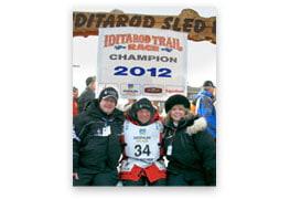 2012 Iditarod Signed Print #1