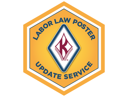 Labor Law Poster Update Service Seal