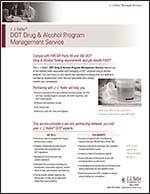DOT Drug & Alcohol Testing Program Management Service