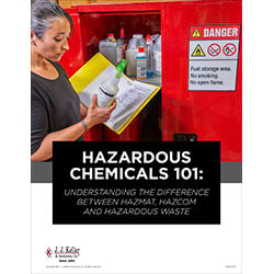 Hazardous Chemicals 101: Understanding the Difference Between Hazmat, HazCom and Hazwaste - Free Whitepaper