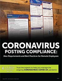 Coronavirus Posting Compliance: New Requirements and Best Practices for Remote Employees