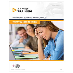 Workplace Bullying and Violence - Free Whitepaper
