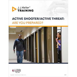 Active Shooter/Active Threat - Free Whitepaper
