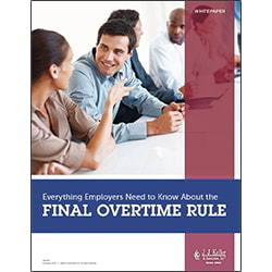 Final Overtime Rule Whitepaper