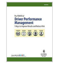 The Power of Driver Performance Management: 5 Keys to Improve Results and Reduce Risk - Free Whitepaper