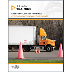 Entry-Level Driver Training: Significant Changes On The Horizon - Free Whitepaper