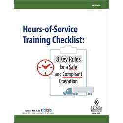 Hours-of-Service Training Checklist - Free Whitepaper