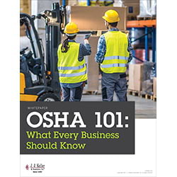 OSHA was created to assure safe and healthful working conditions.