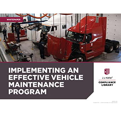 Implementing an Effective Vehicle Maintenance Program Whitepaper