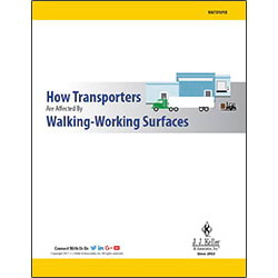 How Transporters Are Affected by Walking-Working Surfaces