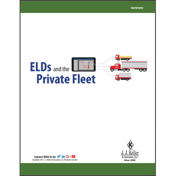 ELDs and the Private Fleet - Free Whitepaper