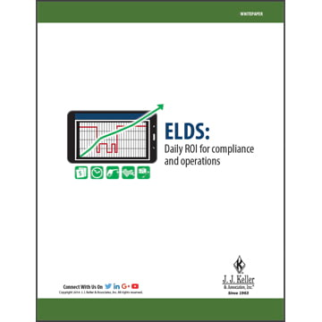 ELDs: Daily ROI for compliance and operations- Free Whitepaper