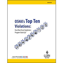 OSHA's Top 10 Violations: How Does Your Compliance Program Stack Up?
