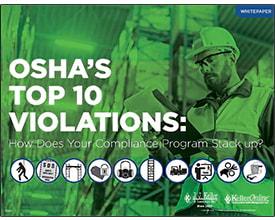 OSHA's Top 10 Violations - Free Whitepaper
